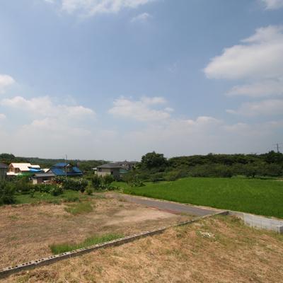 建築前の土地の様子